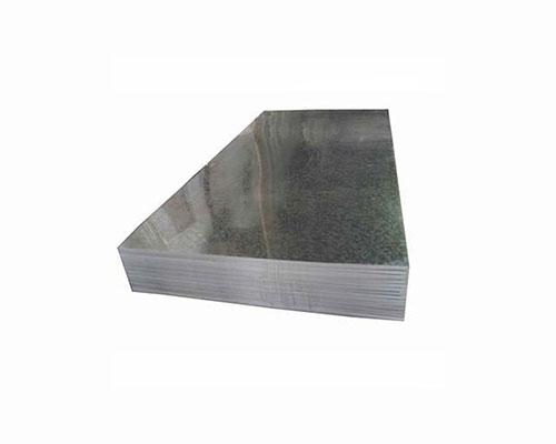 Chapa galvanizada de aço